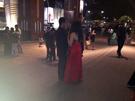 バンガロール 大晦日の夜@UB City
