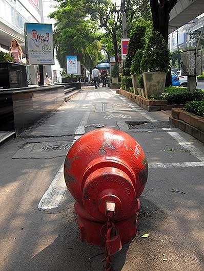 消火栓@バンコク