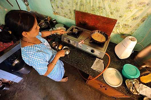 (見知らぬ)インド人宅訪問