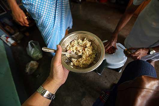 バンガロール (見知らぬ)インド人宅訪問