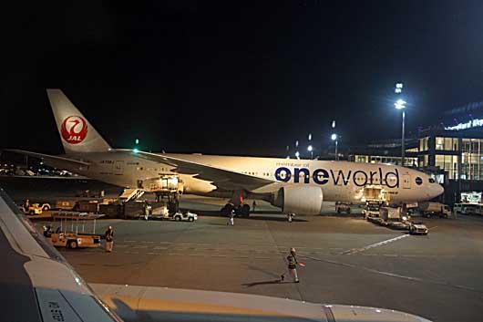 OneWorld 鶴松 機体