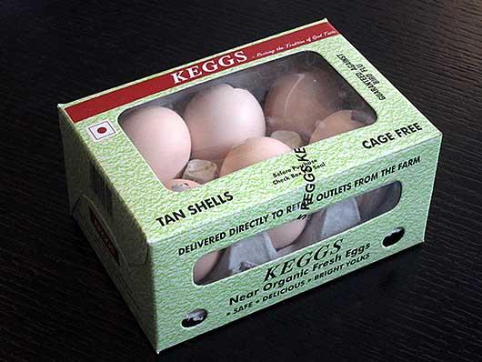 バンガロール 新鮮な卵?