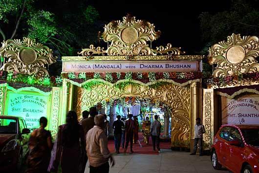 バンガロール 結婚披露宴