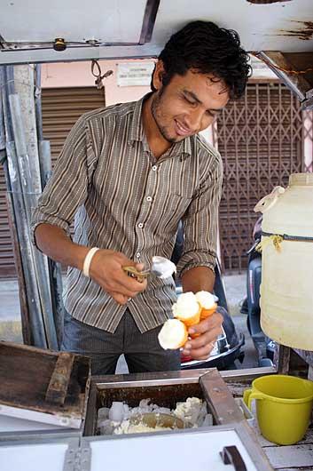 バンガロール アイス売り