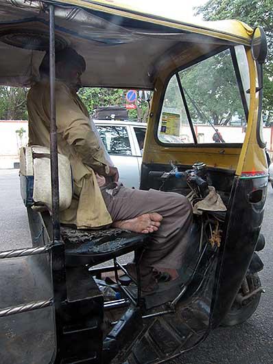 バンガロール リキシャの運転手