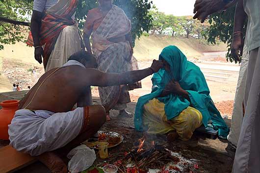 バンガロール ヒンドゥー教の葬式