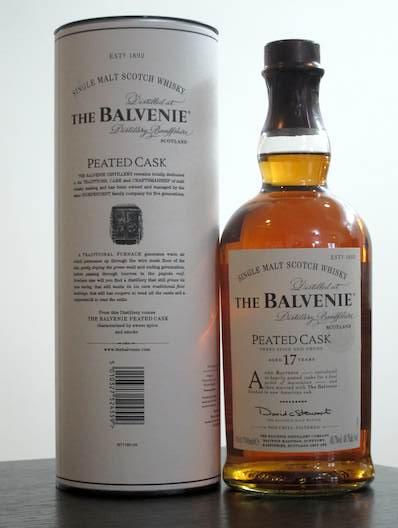 THE BALVENIE 17年 PEATED CASK