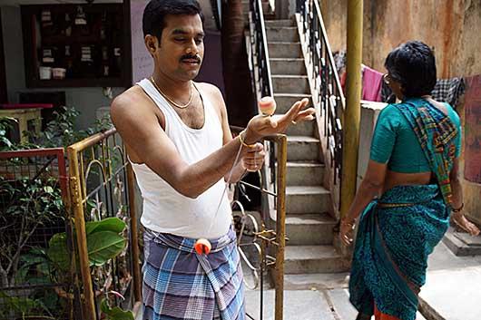 バンガロール インドの独楽