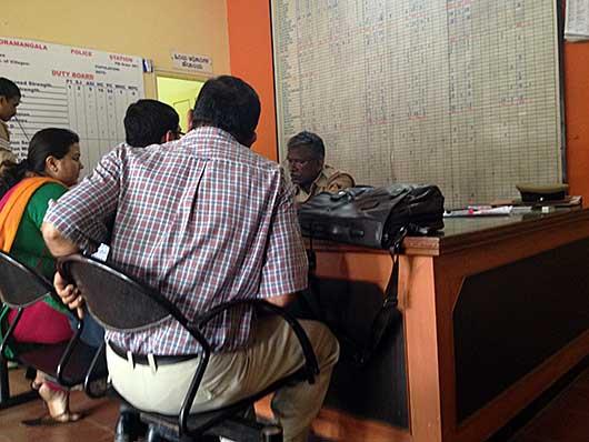 バンガロール 警察署