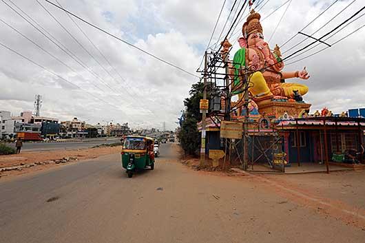 バンガロール ガネーシャ像