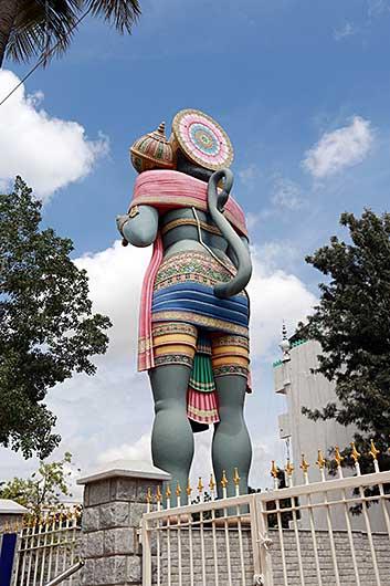 バンガロール ハヌマーン像