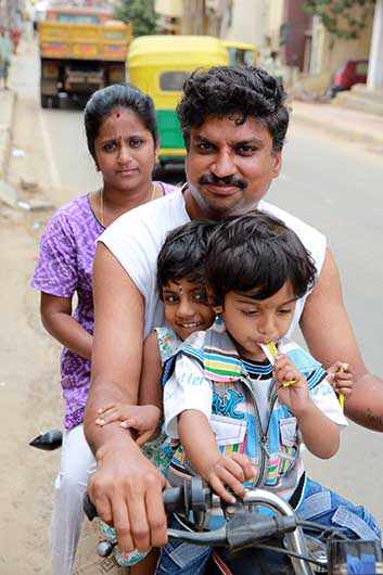 バンガロール 家族