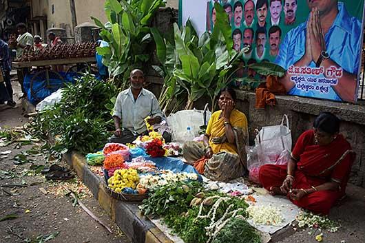 バンガロール ガネーシャ祭り飾り付け