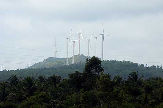 バンガロール 風力発電