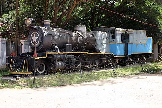 バンガロール 蒸気機関車