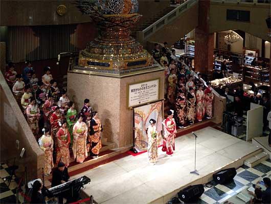 東京  東京きものの女王コンテスト