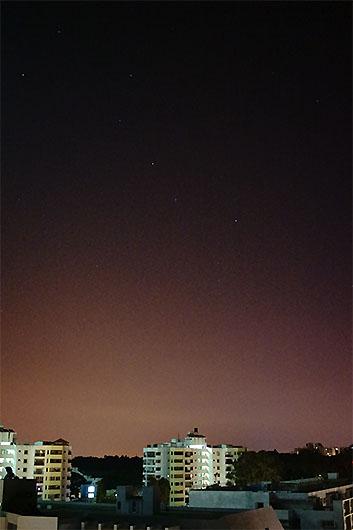 バンガロール 北斗七星