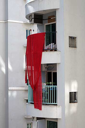 バンガロール 洗濯物