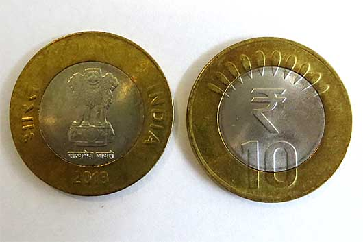 10ルピー コイン