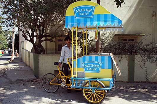 バンガロール アイスクリーム屋