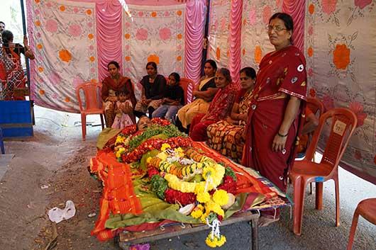 バンガロール 葬式