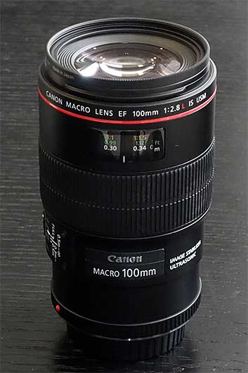 Canon Macro Lens EF 100mm f2.8L IS