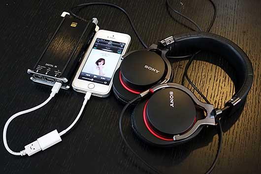 iPhoneを使ったハイレゾ・オーディオ
