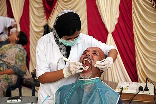バンガロール 無料健康診断