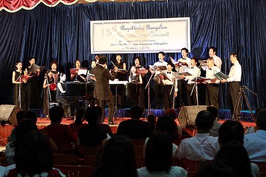 バンガロール 合唱団ロイヤルエコー15周年記念コンサート East Cultural Assosiation