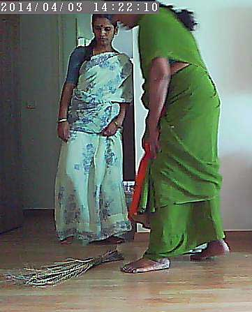 バンガロール メイドが2人も