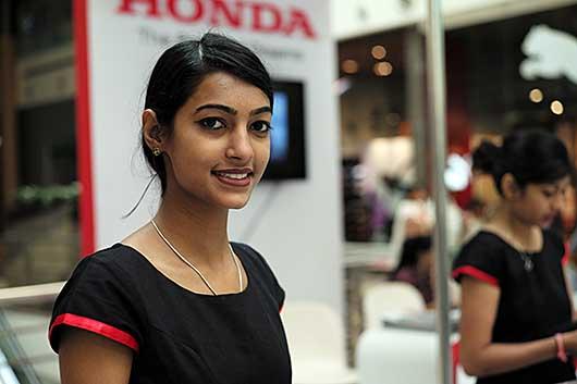 バンガロール インド美人