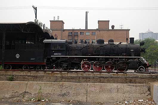 北京798芸術区 蒸気機関車 上游0751