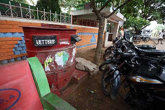 バンガロール 郵便ポスト