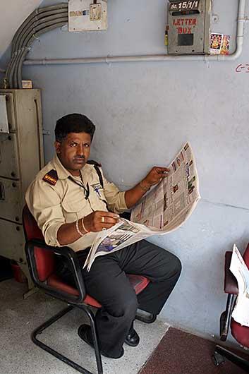 バンガロール ATMのセキュリティ