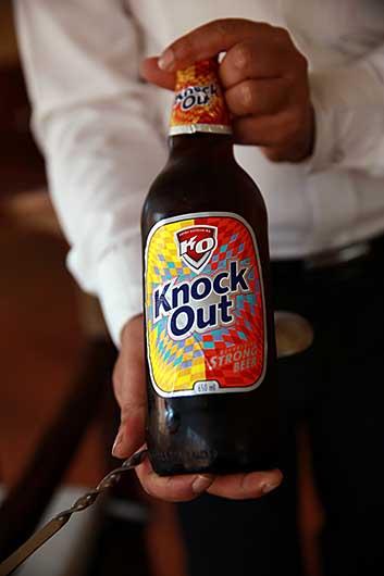 ビール Knock Out