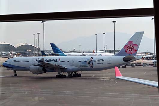 China Airline 特別塗装機 @ 香港空港