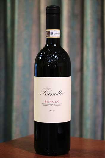 イタリアワイン Prunotto Barolo 2010