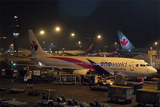 マレーシア航空 oneworld 特別塗装機