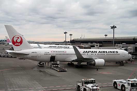 JAL SKY Suite 767 @成田航空