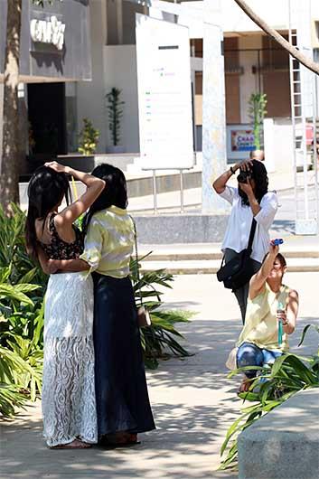 バンガロール モデル撮影