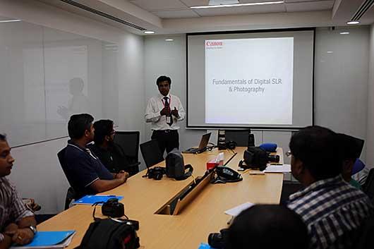 バンガロール カメラ講座
