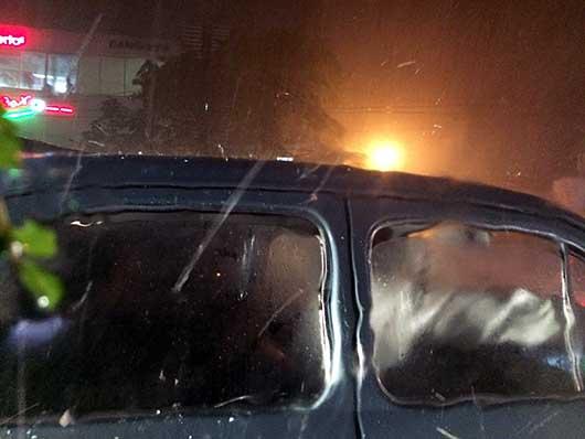 バンガロール 雹