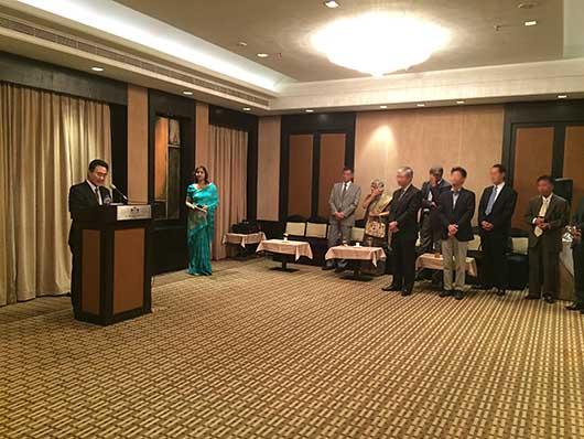 バンガロール 在ベンガルール領事館事務所 新任領事歓迎レセプション