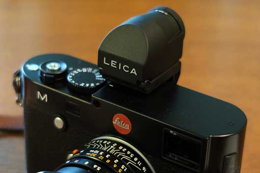 Leica M(Type240)用EVF
