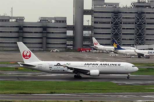 JALカードSuica 特別塗装機