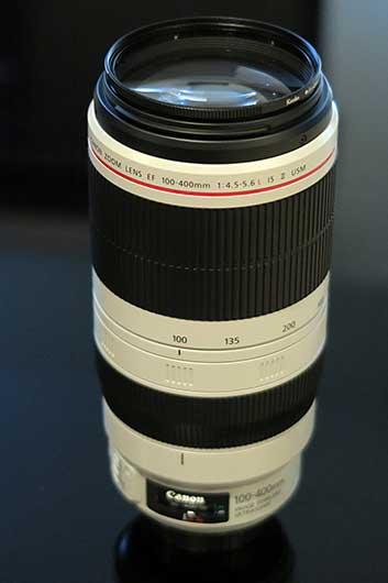 Canon EF100-400mm f4.5-5.6 L II USM