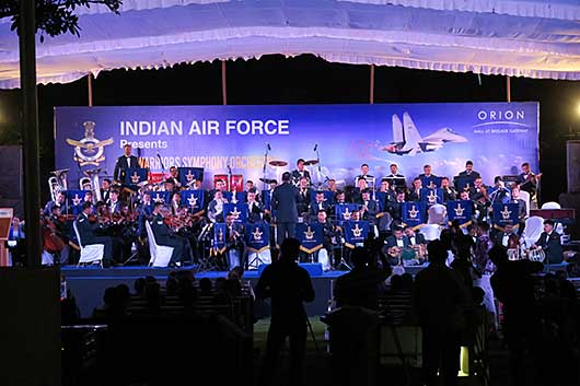 ベンガルール India Air Force Air Warriors  Symphony Orchestra @ ORIONモール