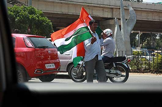 ベンガルール インド独立記念日